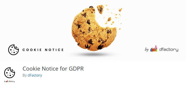 Cookie Notice for GDPR WordPress plugin
