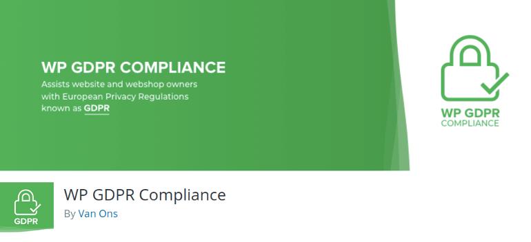 WP GDPR Compliance WordPress plugin