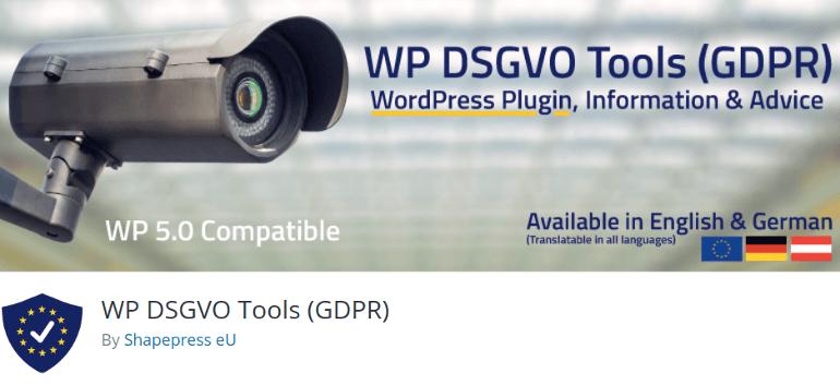 WP DSGVO Tools GDPR