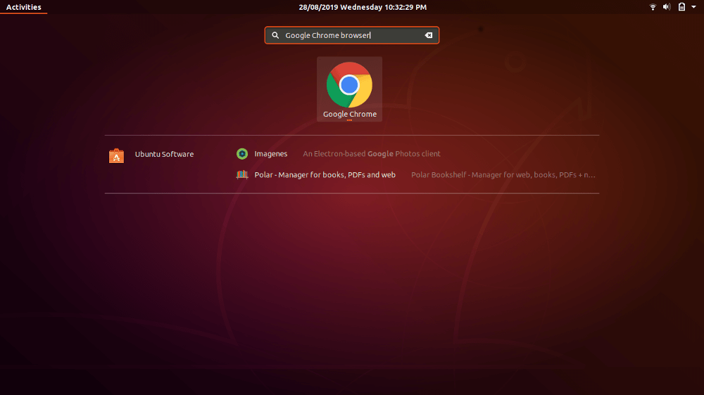 Open Google Chrome On Ubuntu