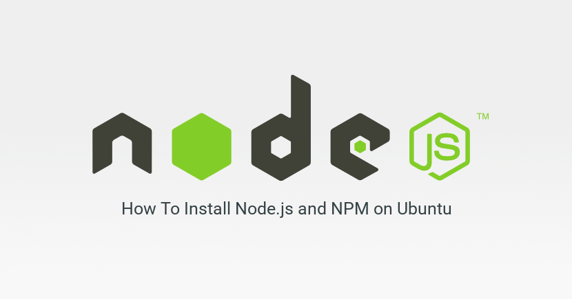 How To Install Node.js and NPM on Ubuntu 18.04 LTS