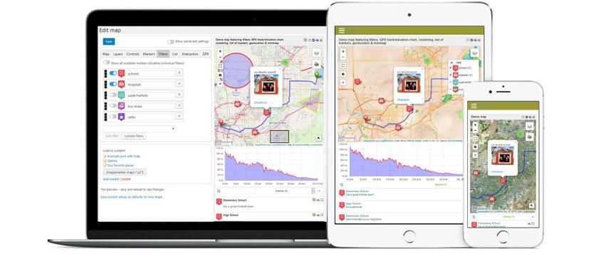 Maps Marker Pro WP Plugin