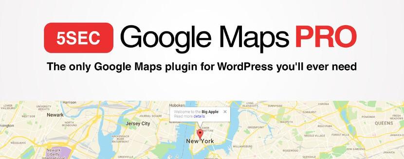 5sec Google Maps PRO WP Plugin