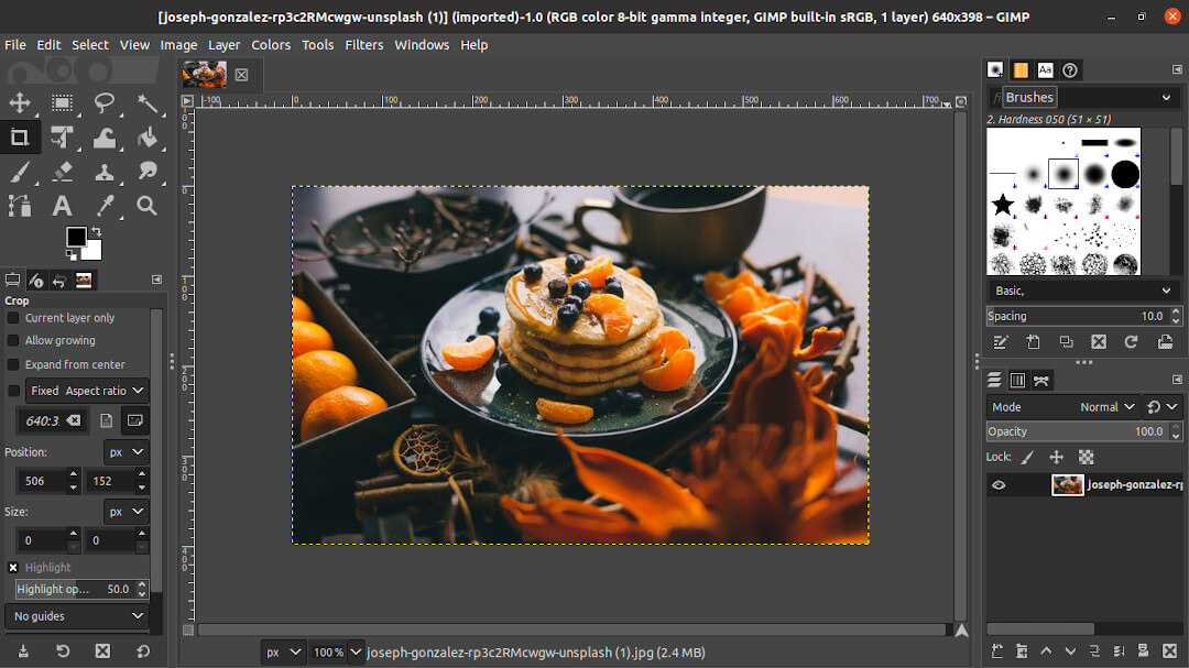 Install and Run Gimp on Ubuntu 20.04