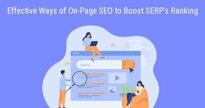 8 Effective Ways of On-Page SEO to Boost SERP's Ranking