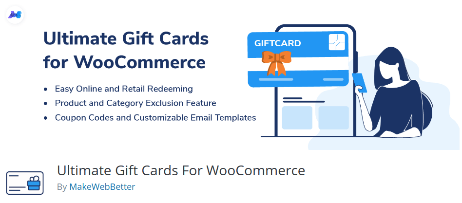 3. Ultimate Gift Card for WooCommerce