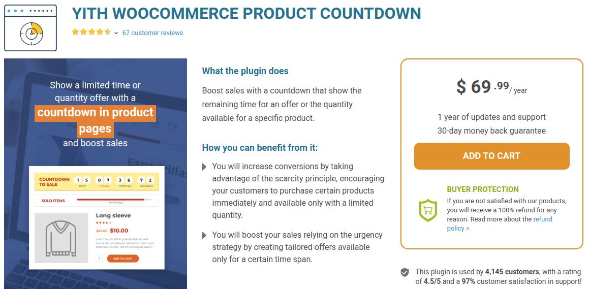 YITH WooCommerce Countdown Plugin
